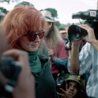 Bonnie Raitt being arrested Carlotta rally 1996 - © Greg King