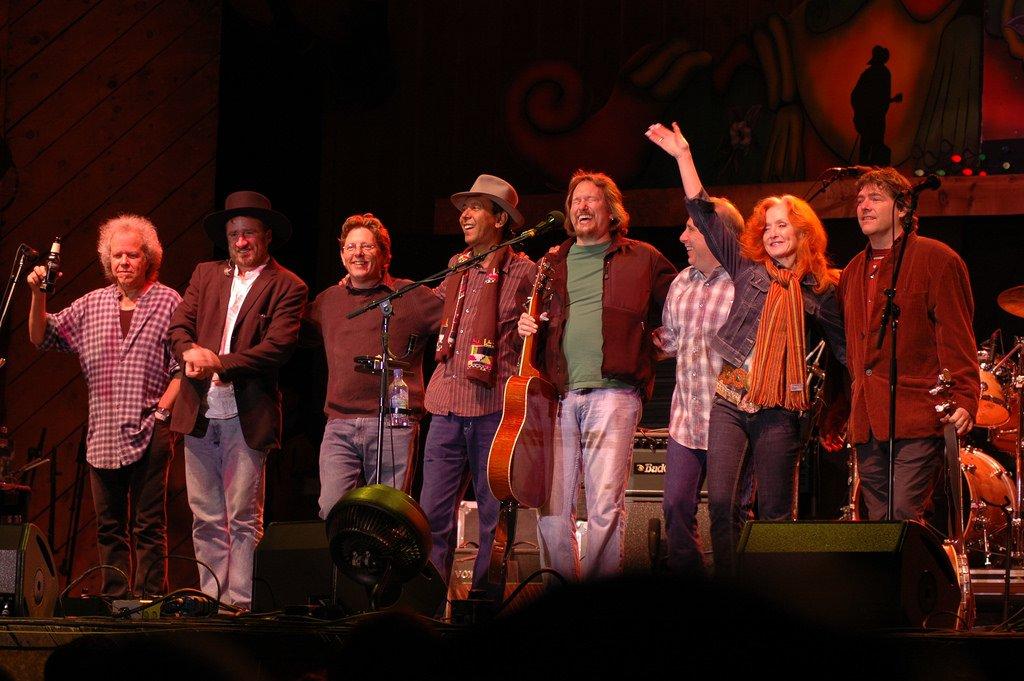 Bonnie and the Telluride All-Stars minus Sam Bush © Nichole Wagner