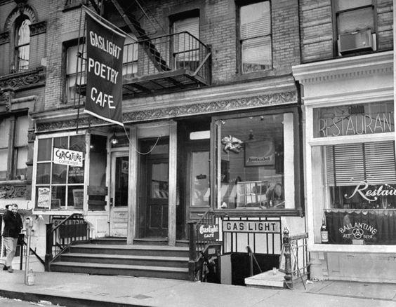 Gaslight Café, NYC Greenwich Village 1958-1971