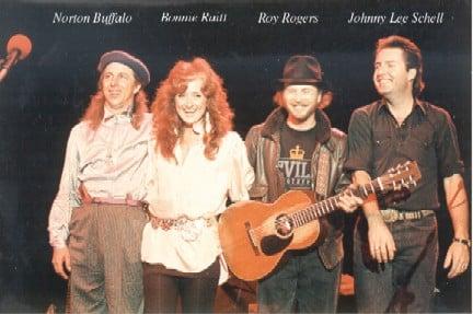 Norton & Roy with Bonnie Raitt & Johnny Lee Schell Luther Burbank Center • Santa Rosa, CA