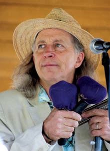 Harmonica great Norton Buffalo was a member of the Steve Miller Band for more than 30 years, and played with other heavy hitters, including Roy Rogers, the Doobie Brothers and bluesman Charlie Musselwhite. © Alan Sheckter