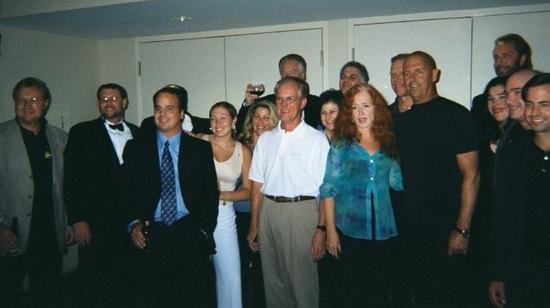 Steve and Bonnie Raitt with the who's who of CEDIA