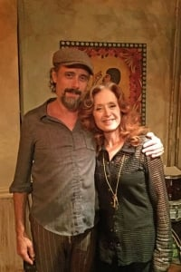 Bonnie visited her friend Richard Julian, musician and co-owner (with his wife, also a musician Rosita Kèss) of Bar LunÀtico in Brooklyn to hang out and also be interviewed for The New Yorker - August 2016