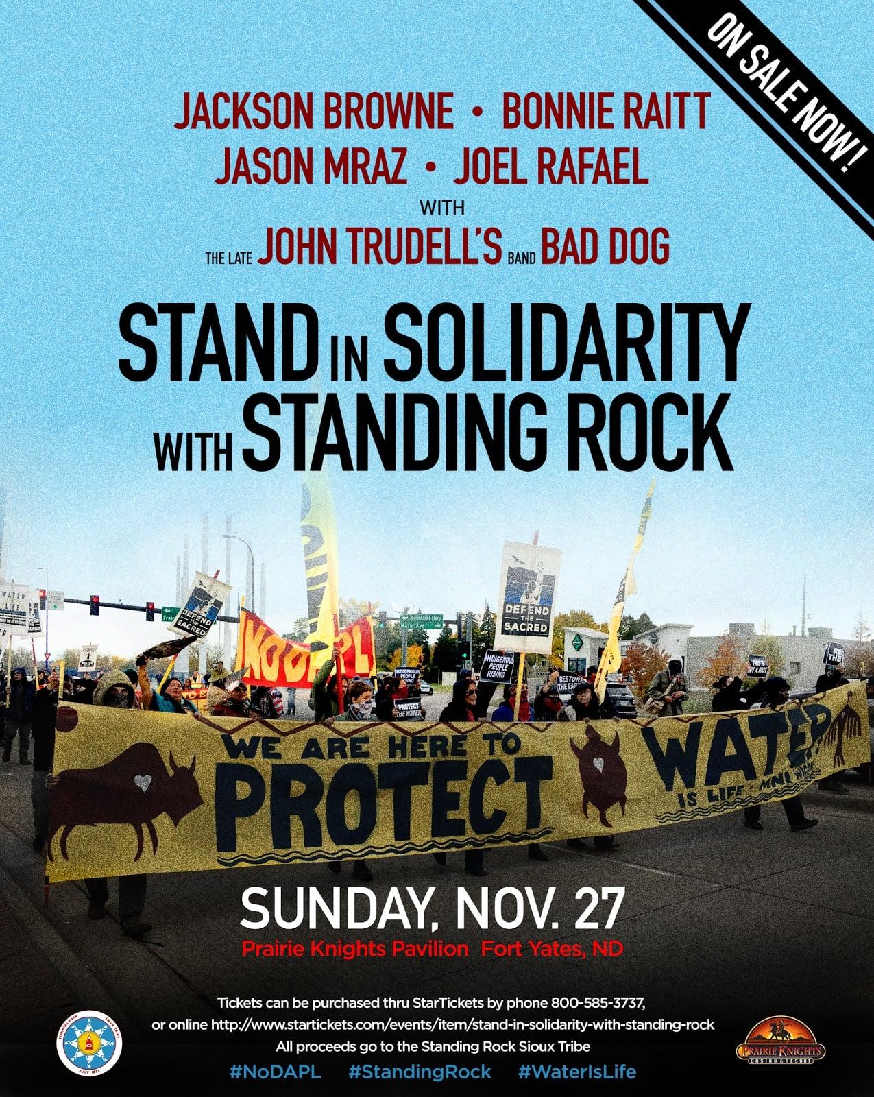 Jackson Browne - Bonnie Raitt Concert nodapl poster