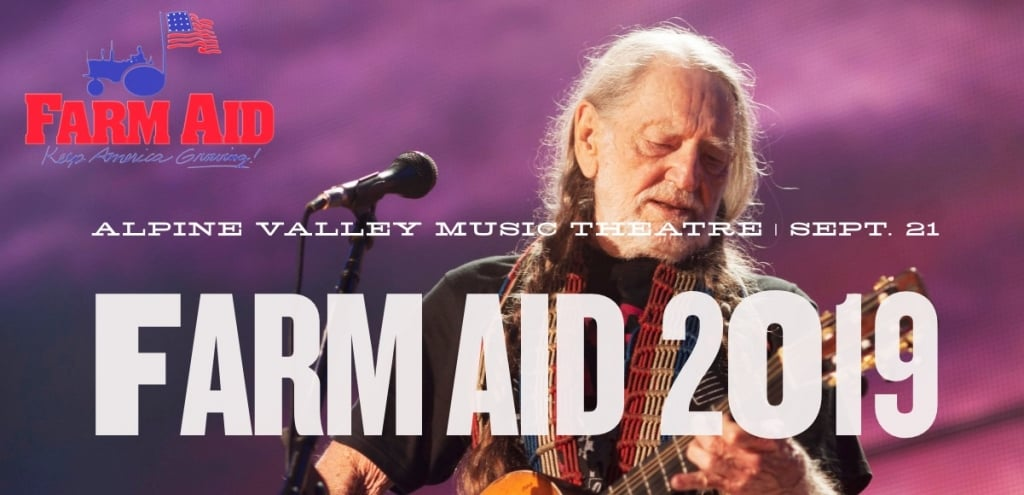 Willie Nelson's Farm Aid Heads to Wisconsin, Joined by Bonnie Raitt, Margo Price, Tanya Tucker & More