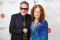 Honorees Elvis Costello and Bonnie Raitt attend the Little Kids Rock Benefit 2017 at PlayStation Theater on October 18, 2017 in New York City.