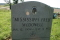 Mississippi Fred McDowell's head stone in Hammond Hill Missionary Baptist Church Cemetary, Como, Ms.