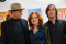 James Taylor, Bonnie Raitt and Jackson Browne attend the 25th Anniversary Rock & Roll Hall of Fame Concert at Madison Square Garden on October 29, 2009 in New York City.
