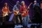 Elvin Bishop, center, takes a solo as he jams with Bonnie Raitt, Steve Miller and Charlie Musselwhite, left to right, during a benefit tribute show for harmonica player Norton Buffalo at the Fox Theater in Oakland, Calif. on Friday, Jan. 22, 2010. Buffalo, who was born in Oakland, appeared on more than 180 albums in his career and spent 33 years with the Steve Miller Band. 100% of the concert proceeds will go to the Buffalo family. Buffalo died from cancer on Oct. 30.